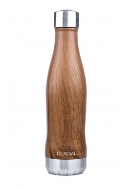 GLACIAL BOTTLE - TEAK WOOD