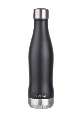 GLACIAL BOTTLE - MAT BLACK