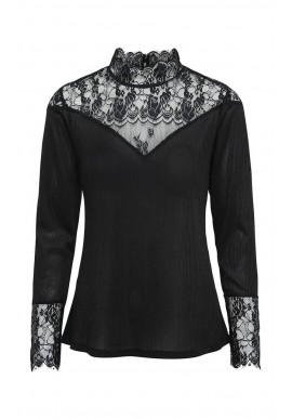 CADDIS FLY DULCENT BLOUSE BLACK