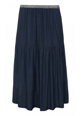 ONE TWO LUXZUZ KARITAS SKIRT NAVY