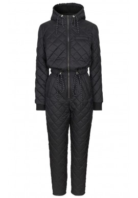 GLOBAL FUNK ISOLDE TEDDO SNOWSUIT BLACK