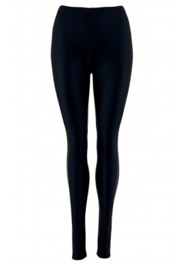 BLACK COLOUR GLOSSY LEGGINGS BLACK