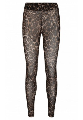 SOFIE SCHNOOR CHERRY LEGGINGS LIGHT BROWN LEOPARD