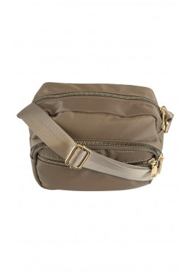 BLACK COLOUR VIGGY NYLON BAG KHAKI