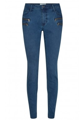 FREEQUENT AIDA JEANS DENIM MEDIUM BLUE