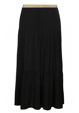 ONE TWO LUXZUZ FALKA SKIRT BLACK
