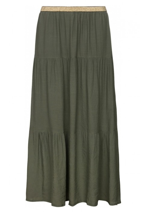 ONE TWO LUXZUZ FALKA SKIRT ARMY