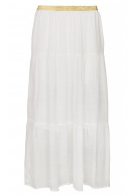 ONE TWO LUXZUZ FALKA SKIRT WHITE