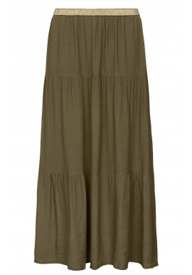 ONE TWO LUXZUZ FALKA SKIRT OLIVE