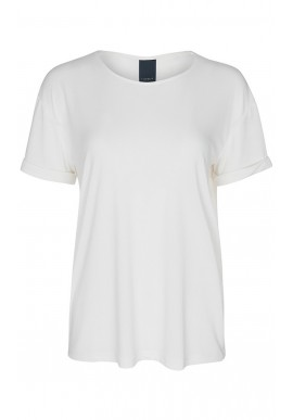 ONE TWO LUXZUZ KAREN T-SHIRT CREAM