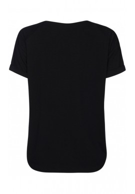ONE TWO LUXZUZ KAREN T-SHIRT BLACK