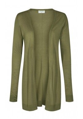 FREEQUENT ELINA CARDIGAN BURNT OLIVE