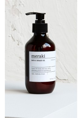 Meraki Bath & Shower Oil - Velvet Mood