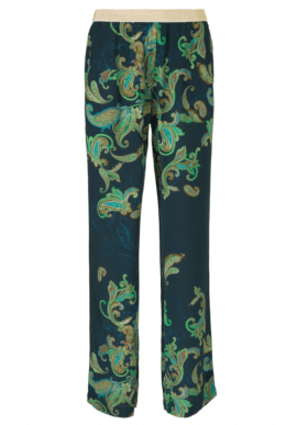 Gustav Bukser - Wide Leg Printed - Midnight