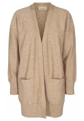 Freequent Cardigan - Claura - Oxford Tan Melange