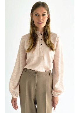 Peppercorn Bluse - Pearl - Evening Sand