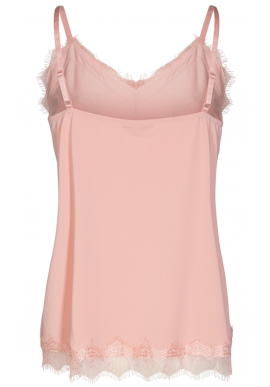 Freequent Top - Bicco - Silver Pink
