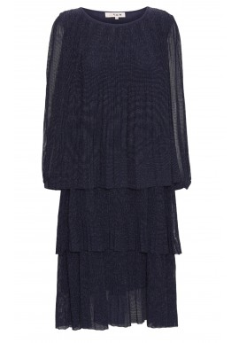 A-View Kjole - Ilja Lurex - Navy