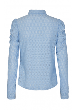 Freequent Skjorte - Milady - Chambray Blue