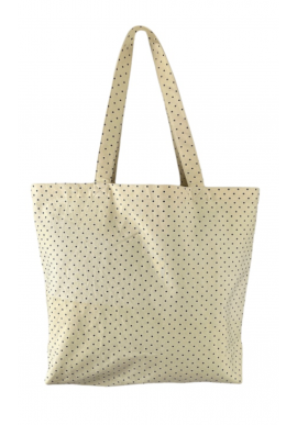 Black Colour Taske / Shopper - Misha - Light Yellow
