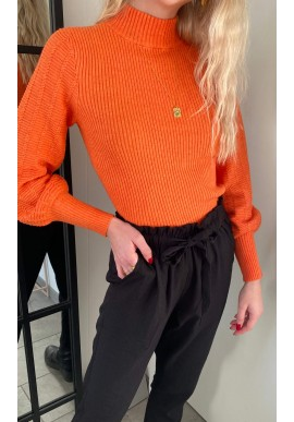 Freequent Pullover - Claura - Flamme Melange