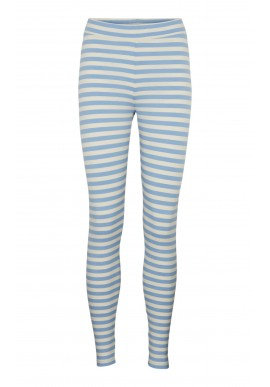 Basic Apparel Leggings - Elba - Blue / Off White