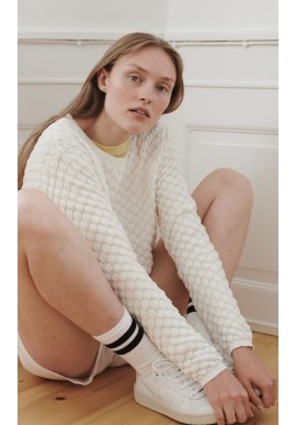Basic Apparel Sweater - Camilla - Off White