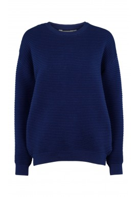 Basic Apparel Sweater - Ista - Navy