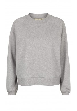 Basic Apparel Sweatshirt  Maje - Light Grey Mel.