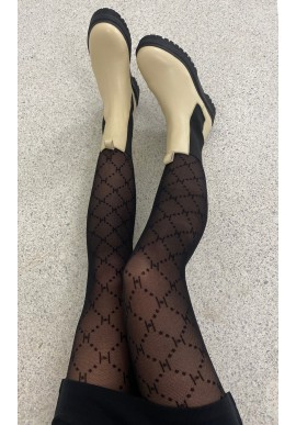 HYPE THE DETAIL TIGHTS LOGO BLACK