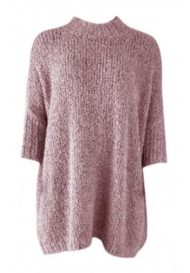 Black Colour Jumper - Teddy Oversized - Candy Floss