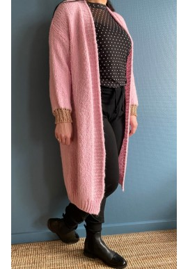 Black Colour Cardigan - Lissie - Candy Rose