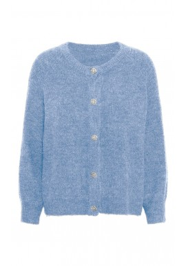 A-View Cardigan - Menorca - Light Blue