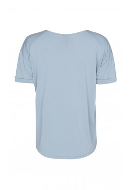 One Two Luxzuz T-shirt - Karin Leo - Pale Blue