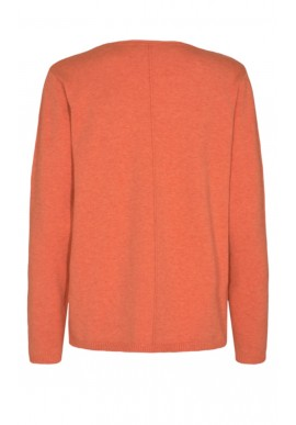 Freequent Pullover - Claura - Flame Melange