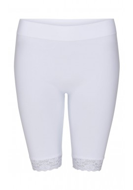 Tim & Simonsen legging - Bike Short Lace - White