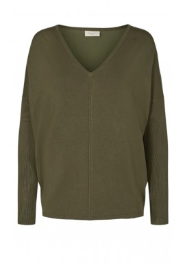 Freequent Pullover - Jone - Olive Night