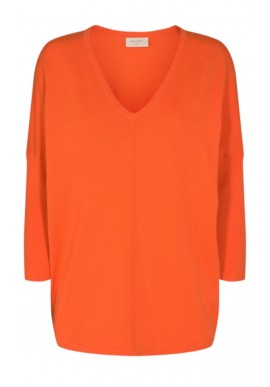 Freequent Pullover - Jone - Flame