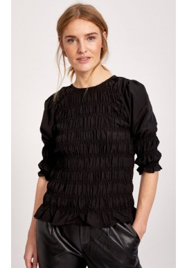 Freequent Bluse - Eloise - Black