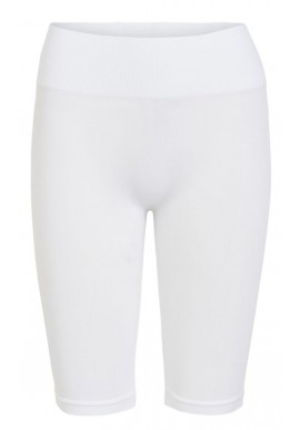 VILA Shorts - Seam - Optical Snow