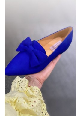Copenhagen Shoes By Josefine Valentin Loafers - Be Good - Electric Blue