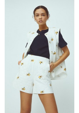 Global Funk Shorts - Mosley - Embroidered Flower