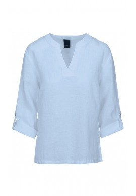 One Two Luxzuz Bluse - Kisserina - Ice Blue
