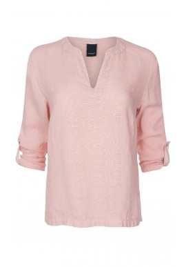 One Two Luxzuz Bluse - Kisserina - Vintage Rose