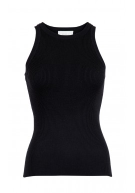 Neo Noir Top - Willy Knit - Black