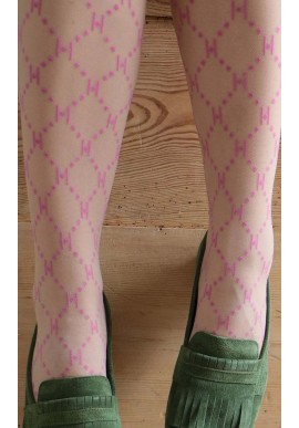 HYPE THE DETAIL TIGHTS LOGO PINK 25 DENIER