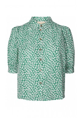 Lollys Laundry Bluse - Zoe - Green