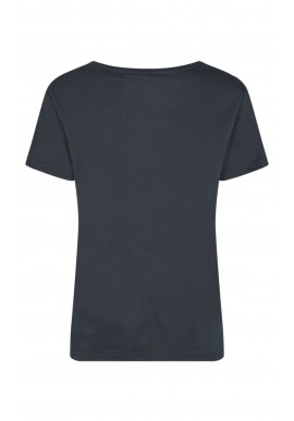 Freequent Bluse - Que-Tee - Black Mix