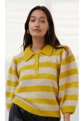 Lollys Laundry Bluse - Dylan Jumper - Yellow