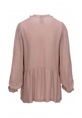 One Two Luxzuz Bluse - Liba - Powder Rose